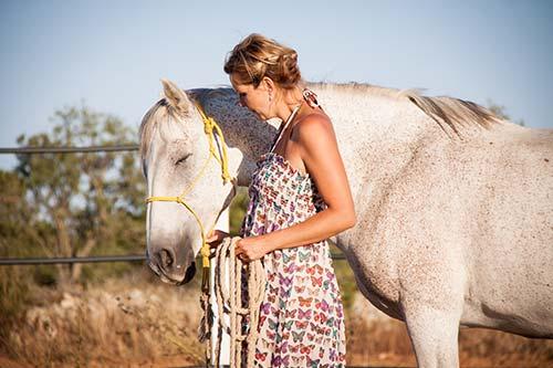 achtsamer Umgang mit dem Pferd
