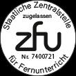 ZFU Siegel Zulassung Horsemanship